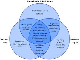 Healthy Living Chart Blue Zone Wikipedia