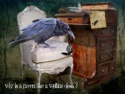 the straight dope why is a raven like a writing desk