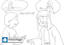 Now, father, glorify me together with yourself, with the glory which i had with you before the world was. Free Printable Jesus Heals Coloring Pages For Kids Connectus
