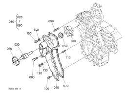 parts for kubota l kubota 10167837 l48 engine water pump