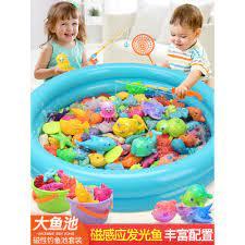 Mua Bộ đồ chơi câu cá cho trẻ em Double Bay cho trẻ em Nam và nữ chơi câu  đố nước câu cá từ bé 1-3-6 tuổi chỉ 670.675₫
