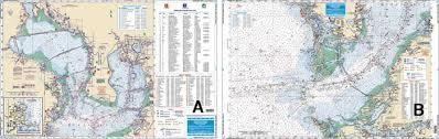 Noaa Chart 11416 Waterproof Inshore Fishing Chart Tampa Bay