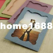 6 diy handmade wall hanging paper photo frame decoration pictures paperboard cards 230gsm frame decoration decorating frame ideas decor frame moulding