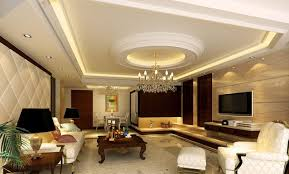 High Quality Living Room. A Collaboration Rectangle Tray Ceiling With Rounded Tray As  Center Accent. Impressive