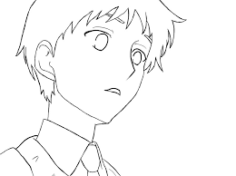 Small Picture anime boy lineart Colouring Pages anime guy coloring pages isrs2011