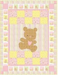 Best 25+ Teddy bear quilt pattern ideas on Pinterest   Teddy bear ... & A Beary Cute quilt, 44 x free pattern by Hilary Bobker for Windham Fabrics  (includes teddy bear applique template) Adamdwight.com