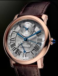 cartier watches luxury watches that impress review blog part 6 the rotonde de cartier perpetual calendar