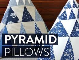 amy butler pyramid pillow