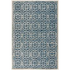 safavieh cambridge navy blue ivory 5 ft x 8 ft area rug