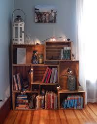 wine crate furniture. DIY Wine Box Shelves Travel And Recipe Book Storage Crate Furniture