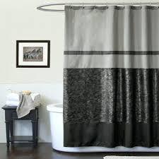 black shower curtain lush decor croc black shower curtain bed bath shower curtains accessories watercolor fl