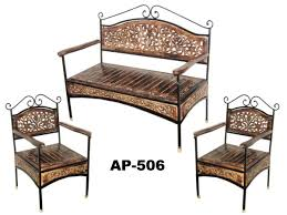 wood and wrought iron furniture. Full Size Of Wroughtn Sofa Set Adorable Charming Furniture With Table Wine Rack Wood Top Bronze And Wrought Iron I