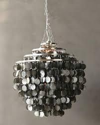 amazing home miraculous capiz shell chandelier of worlds away large round capiz shell chandelier