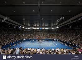 australian open roof view of the lord rover arena with the roof closed during the stock