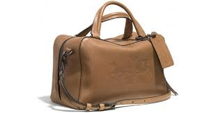 Lyst - Coach Bleecker Logo Small Toaster Satchel in Leather in Brown
