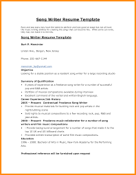 Writer Resume Examples Examples Of Resumes