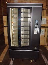 Rotating Vending Machine Extraordinary CRANE NATIONAL SHOPPERTRON 48 Rotating Cold Food Vending Machine