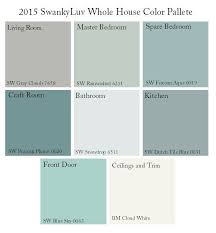 color schemes for home interior. Exellent Interior Sherwin Williams Whole House Color Palette  Google Search More And Color Schemes For Home Interior