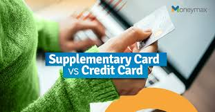 supplementary credit card how it works