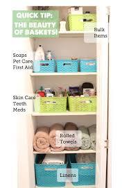 bathroom closet organization ideas. Wonderful Bathroom All Sorts Of Good Ideas For Baskets Used To Organize Here In Bathroom Closet Organization Ideas H