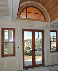 French Doors  HENSELSTONE WINDOW AND DOOR SYSTEMS INC - Exterior transom window