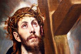 domenico theotocopoulos called el greco born in crete active in italy and spain christ carrying the cross