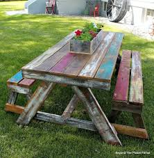 best 20 picnic tables ideas on diy picnic