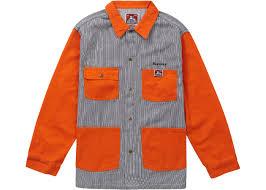 Supreme Ben Davis Chore Coat Hickory Stripe