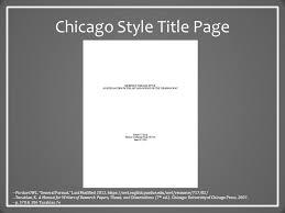 chicago style the basics university writing center university of 3 chicago