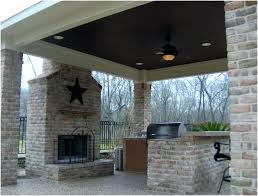simple outdoor fireplace ideas designs modern plans home design for the