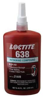 Loctite Retaining Compound Chart Retaining Compound High Strength 250ml Loctite 638