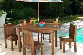 childrens outdoor furniture kid outdoor furniture contemporary s espresso table and stacking chairs kids in childrens