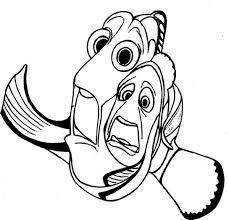 La Fuga Di Dory E Marlin Disegni Da Colorare Alla Ricerca Di Nemo