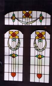 edwardian stained glass ed101
