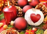 Сердце на новый год