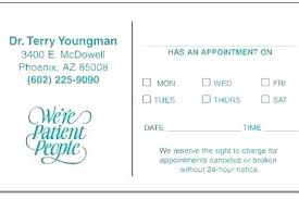 Appointment Card Template Dentist Appointment Card Template Thirdbattalion Info