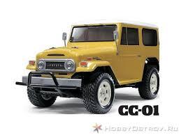 Купить Р/У <b>внедорожник Tamiya XB</b> Land Cruiser 40 (CC-01) 4WD ...