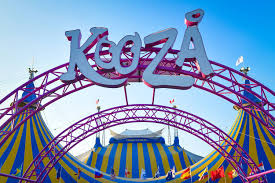 kooza is a return to the origins of cirque du soleil that bines two circus traditions acrobatic performance and the art of clowning