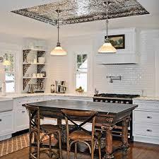 tin ceiling kitchen kitchen ceiling lights