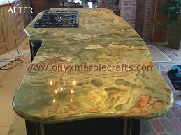 onyx countertops dark green onyx countertops kitchen bathroom bar backlit ony