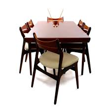 sold rosewood teak dining chairs set of 6 erik buck model 310 chairs