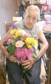 97th birthday for Gertrude Johnson