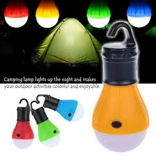 Eletorot Portable Outdoor Hanging Tent Camping Lamp Soft Light Led