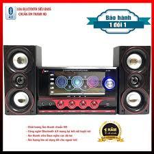 Dàn Âm Thanh Đa năng - Loa Vi Tính Hát Karaoke Có Kết Nối Bluetooth USB  SKYNEW - SKN395 - 2 micro - Dàn âm thanh Thương hiệu ISKY
