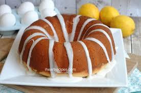 Southern Lemon Pound Cake I Heart Recipes