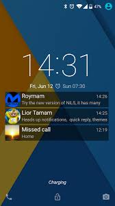 NiLS Lock Screen Notifications Android Apps on Google Play