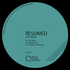 Resumed BSR100 RESUMED 100 Miles EP Black String Records 2