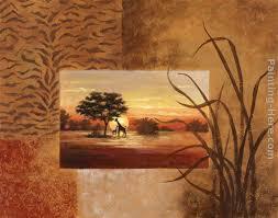 african giraffe painting vivian flasch african giraffe art painting