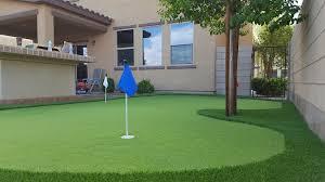 artificial grass las vegas. Backyard Putting Greens Las Vegas. Artificial Grass Vegas