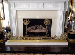 Antique French Brass Fire Place Fender 6'8 - $1,250.00 : Cydneys ...